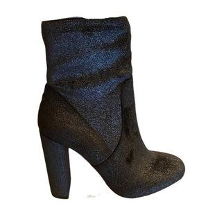 New Call It Spring Piellan Boots Black Sparkle Size 10